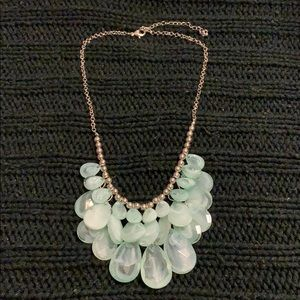 Teal Bubble Costume Necklace